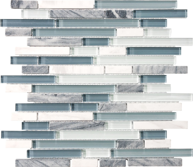 Eclipse Glass Mosaics from Imperial Tile traditional-mosaic-tile