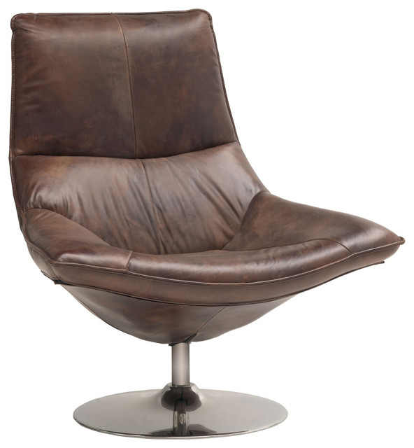 leather masculine swivel accent chair transitional living room chairs
