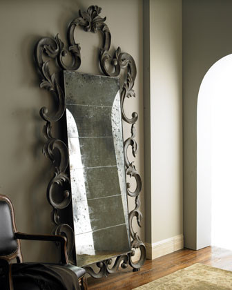 Antiqued Mirror traditional-floor-mirrors