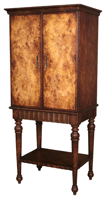 Ara Wine Cabinet traditional-wine-and-bar-cabinets