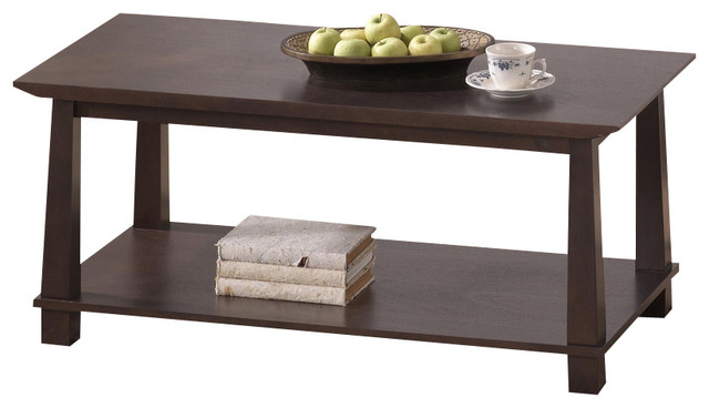 Best Dark Brown Coffee Table For Room Inspiration Ideas Along With