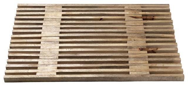 Wooden Bath Mat bath-mats