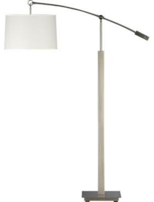 Charles Nickel Floor Lamp contemporary-floor-lamps