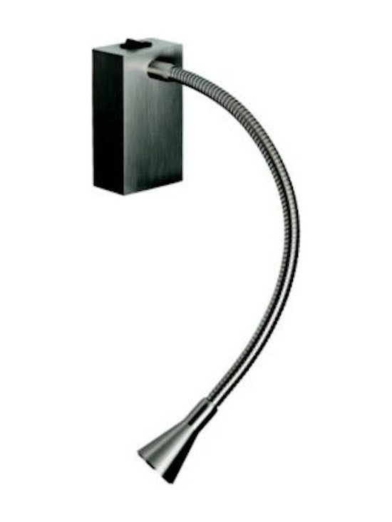 Tango Lighting - Tango Evo Wall Light - Evo is a metallic wall or ceiling flexible lamp design by Daifuku in 2010 for Carpyen. Evo is a metallic wall or ceiling flexible lamp that features switch on the base and with adaptable electrical wall plate.