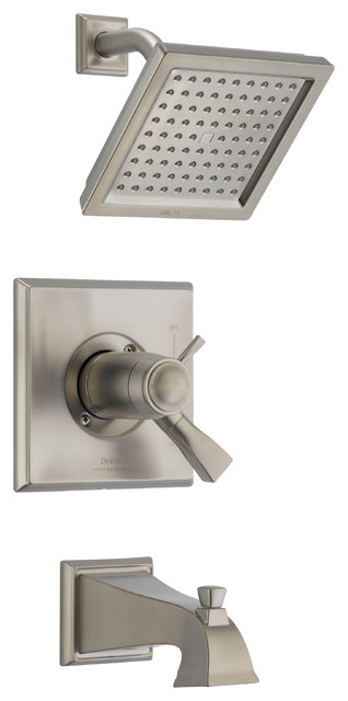 Dryden TempAssure 17T Series Thermostatic Tub and Shower Trim contemporary-showers