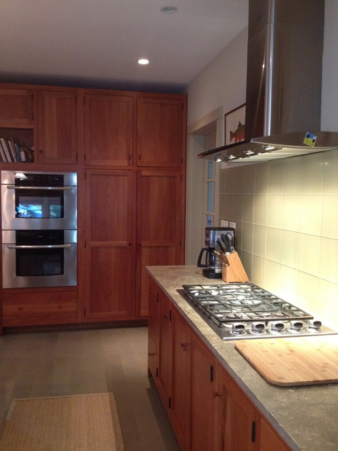 Contemporary Arts and Crafts Estate eclectic-kitchen