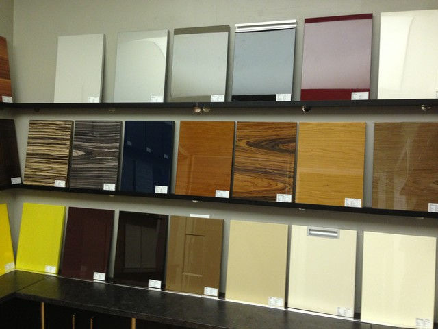 High gloss laminate cabinet doors roselawnlutheran for New kitchen cabinet doors