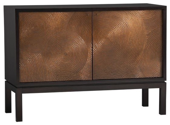 Cirque Two-Door Sideboard | Crate&Barrel contemporary buffets and sideboards