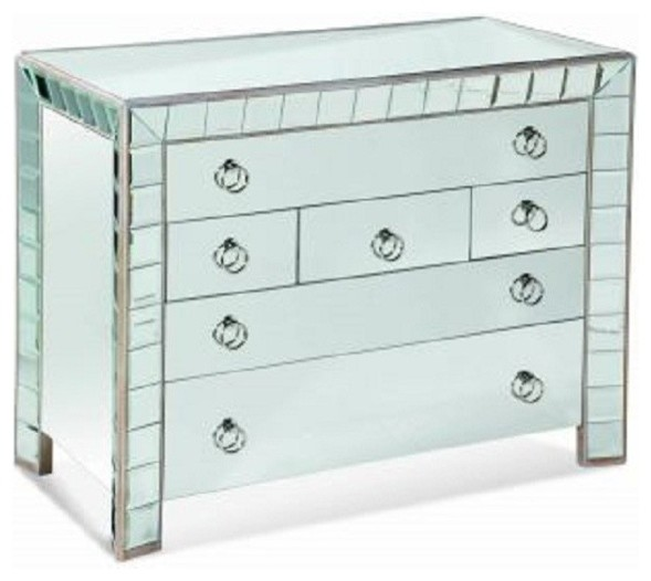 Bassett Mirror Prisms Hall Chest T2067 766 Traditional Accent Chests And Cabinets Salt