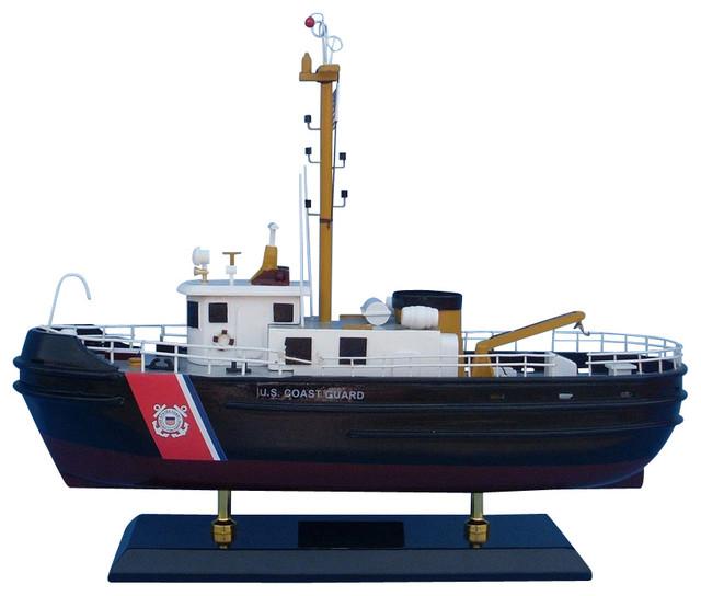 Uscg harbor tug 16 wooden us coast guard boat coast