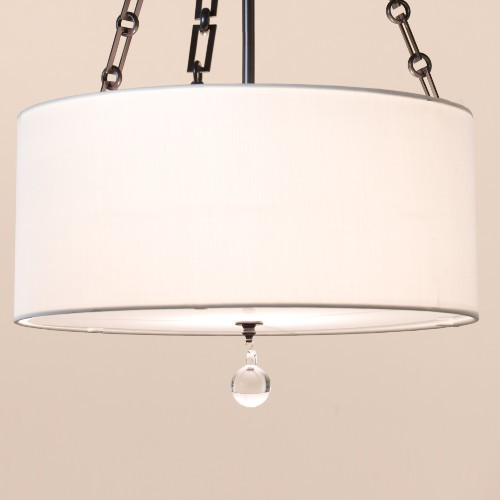 London, Fabric contemporary pendant lighting