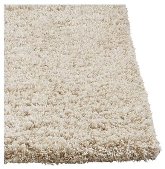 zia shag rug modern rugs by crate barrel