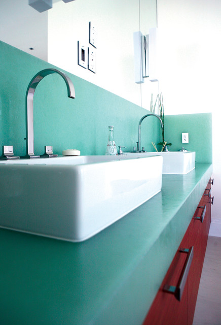 Glass Countertop Options : BioGlass, Oriental Jade - Vanity Tops And Side Splashes - portland