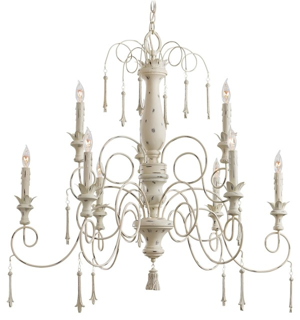 Minka Lavery 1239-648 Accents Provence 9 Light Chandelier traditional-chandeliers