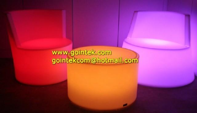 RGB rechargeable led bar chair/coffee chair/bar sofa modern-dining-chairs