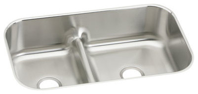 gourmet stainless steel double bowl undermount sink