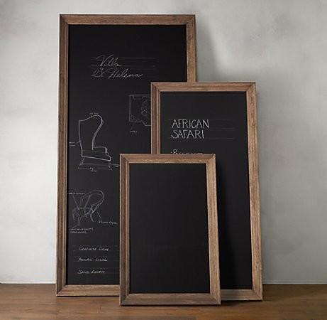 Marseilles Chalkboard By Restoration Hardware