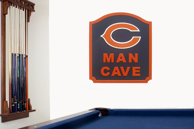 Chicago Bears Man Cave Signs : Chicago bears nfl d man cave sign modern home