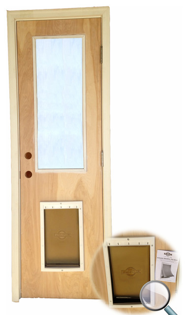 New Entry Doors Craftsman Pet Doors New York By Hamilton Building Supply