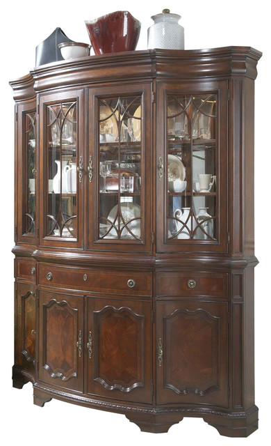 Antebellum China Buffet and Hutch traditional-storage-cabinets