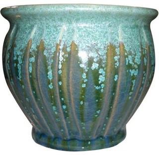Atlantis 11 1 2 In Ceramic Belfry Planter Indoor Pots