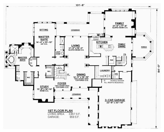 Tuscan villa for Tuscan villa floor plans