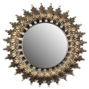 Acanthus Leaf Mirror eclectic-mirrors