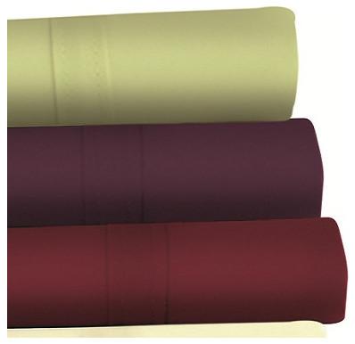 Egyptian Cotton 500 Thread Count 6 Piece Extra Deep Pocket Sheet Set modern-sheets