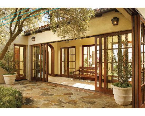 Wood Sliding Glass Doors -