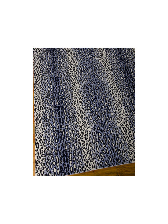 "Barclay Butera Lifestyle - Barclay Butera Lifestyle ""Midnight Cheetah"" Rug - A classic animal print goes dark and mysterious for a rug that creates an exotic landscape for fine furnishings. Stylish enough to go casual but timeless enough for more formal settings. Power-loom woven of New Zealand wool. Cotton backing applied wit..."