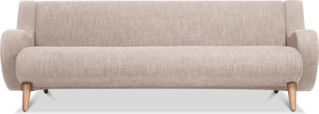 Wimbledon Beige 3-Seat Sofa modern-sofas