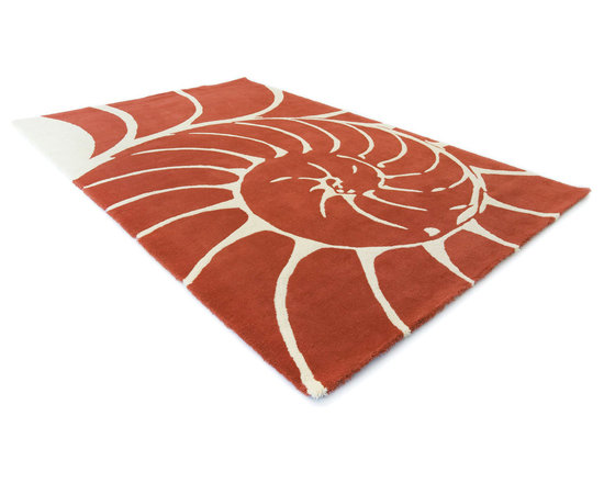 Nautilus Rug - This low pile nylon rug is made locally in California.