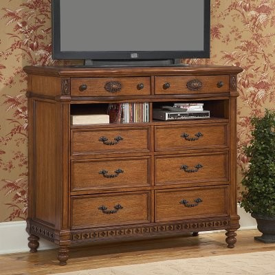 Southern Heritage Oak Media Chest modern-dressers-chests-and-bedroom-armoires