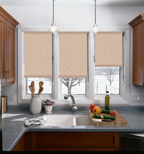 Graber Roller Shade: Sheffield - Contemporary - Roller Blinds - by Blindsgalore