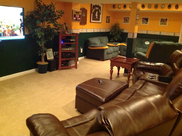 Green Bay Packers Man Cave Decor : Green bay packers man cave