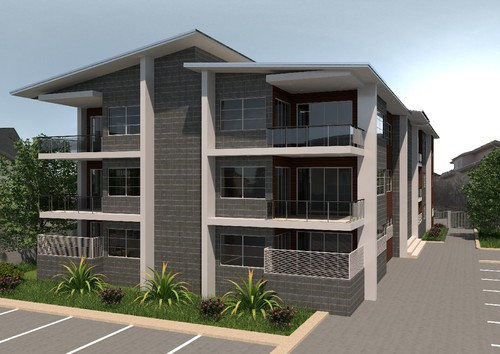 Help with 3 storey building exterior design for Multi storey apartment modern design