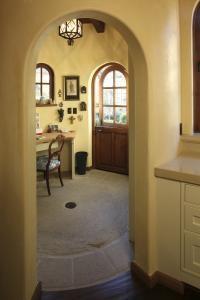 Spanish Colonial Hacienda, Carmel, California mediterranean-home-office