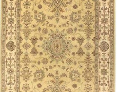 Momeni Mahal Ahmad MC-22 Persian Rug - Gold traditional rugs