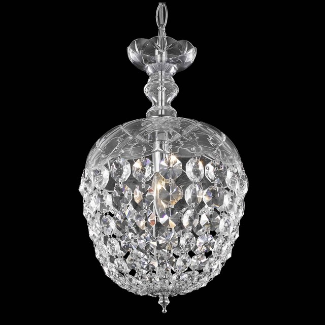 Chic Olde World Crystal Mini Pendant Chandelier Lighting