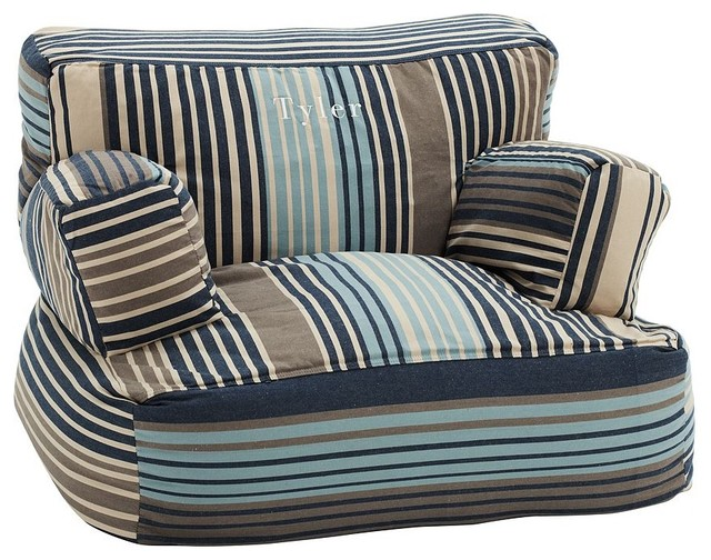 Derby Stripe Eco Lounger traditional-kids-chairs