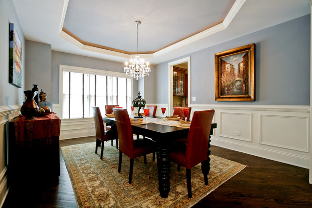 Oakley Home Builders traditional dining room