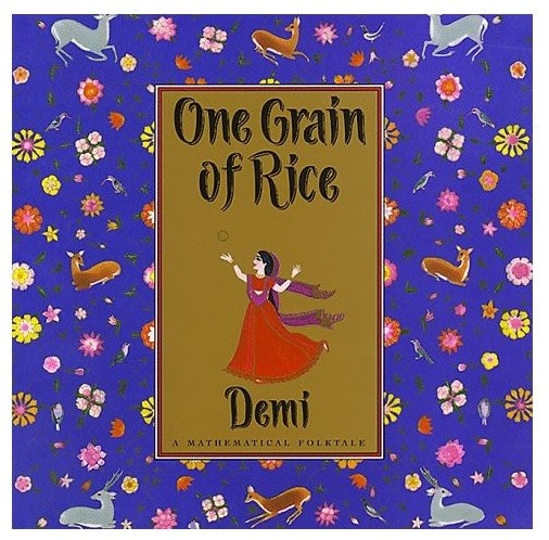 One Grain Of Rice: A Mathematical Folktale asian-books