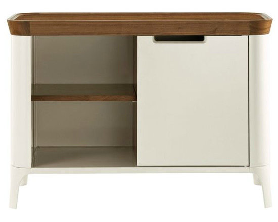 Airia Media Cabinet - This is the adorable matching storage cabinet for the Airia desk.
