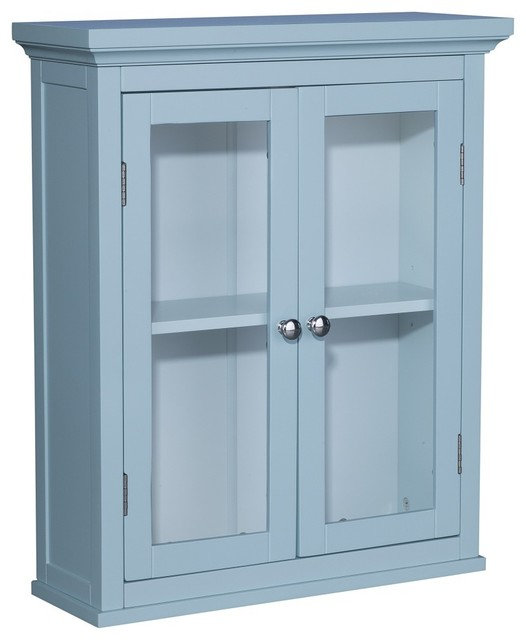 Allendale 2-door Wall Cabinet - Contemporary - Kitchen Cabinetry - by Overstock.com