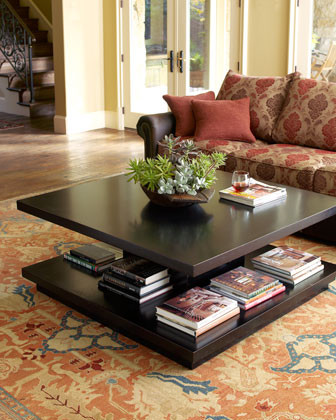 Book It Coffee Table traditional-coffee-tables