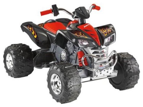 Fisher-Price Kawasaki KFX Battery Powered ATV Riding Toy contemporary-kids-toys-and-games
