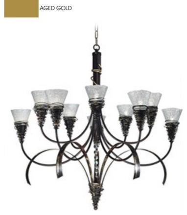 Siberia 10 Light Chandelier modern-chandeliers