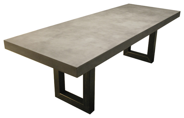 28 Cement Dining Table Warwick Concrete Rectangular Dining