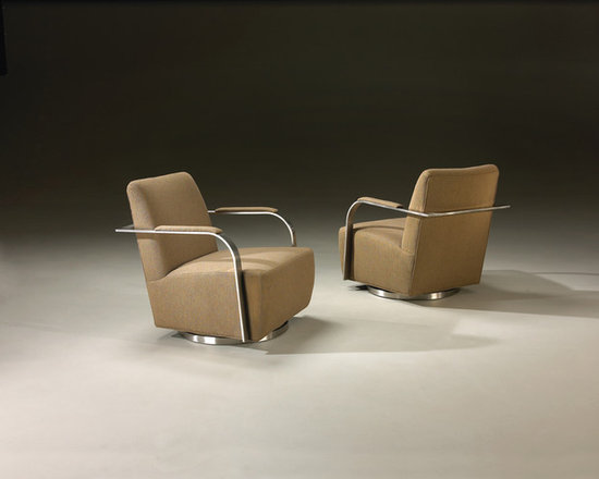 Thayer Coggin - Zac Swivel Chairs from Thayer Coggin - Thayer Coggin Inc.