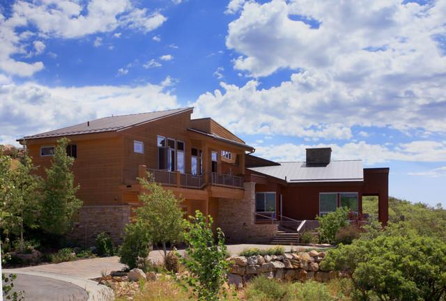 April Mountain Residence contemporary-exterior